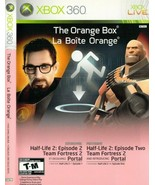 The Orange Box Half Life 2 (Xbox 360, 2007) With Manual - $22.47