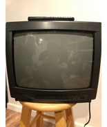 """Funai Vintage Retro Gaming TV 13"""" Color Tested Works - See Photos! - $96.90"""