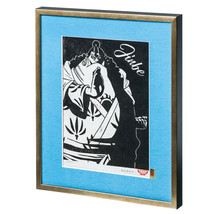 ONE PIECE WOODBLOCK PRINT COLLECTION JINBE Limited 200 Anime Japan Rare - $297.88