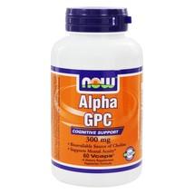 NOW Foods Alpha GPC 300 mg., 60 Vegetarian Capsules - $26.35