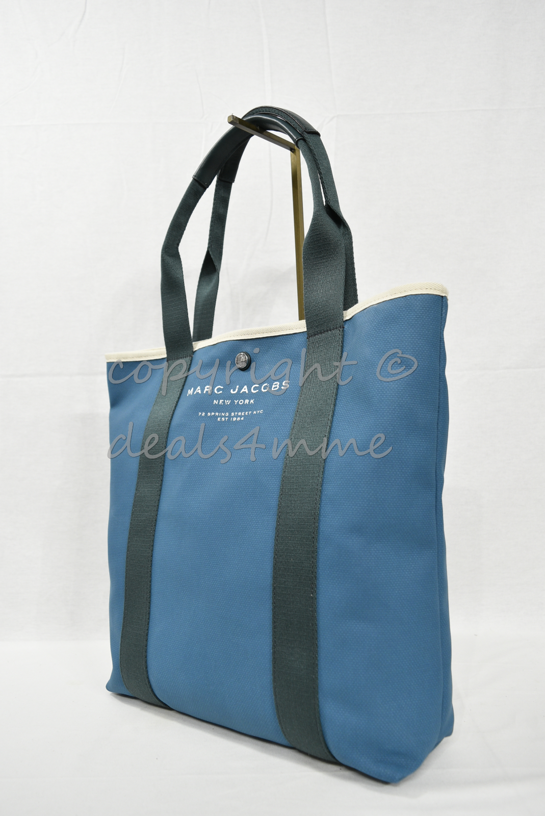 Primary image for MARC By Marc Jacobs M0010932 North South Canvas Tote/Shoulder Bag in Pacific