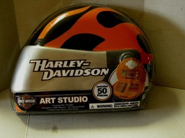 Harley-Davidson Helmet Art Kit, 50 Pieces, Brand New - $19.99