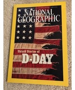 National Geographic Mag.June 2002.Untold stories of D-DAY - $4.00