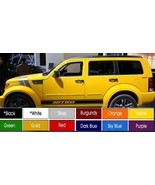 "Dodge Nitro Running Board Decals Pair (2) 3.5"" x 72"" Choose Color ! Buy ... - $22.99"