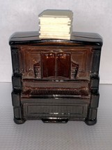 Vintage Avon Tai Winds After Shave Amber Glass Bottle Upright Piano - $7.50