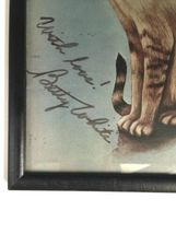 "Framed Signed Original Betty White Autograph All Cats Print 9x12"" Golden Girls image 3"
