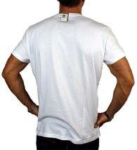 BRAND NEW DIESEL INDUSTRY LOGO MEN'S DESIGNER PREMIUM COTTON T-SHIRT TEE WHITE image 3