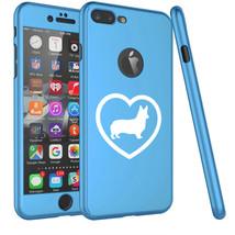 For iPhone 360° Full Body Thin Hard Case Cover + Screen Protector Corgi ... - $14.99