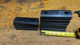 lot of Press Brake punch die holder side plates - $84.15