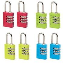 Master Lock Combination Locks 2 Aluminium 20 mm - Colour Sorted, 7620EURTCOL  - $17.00