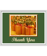 """Thank You"" Cards: 2 Handmade Christmas Photos - $2.95"
