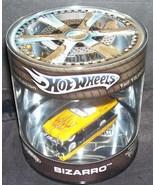 Hot Wheels BIZARRO Yellow w/Red Stripes Diecast NEW! - $11.96