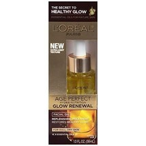 L'oreal Age Perfect Glow Renewal Facial Oil Treatment for Dull, Dry Skin... - $10.95