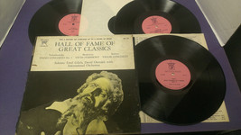 Hall Of Fame Great Classics ~ 3 Record Set ~ Tschaikowsky   - Vinyl Record - $9.89