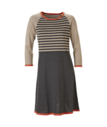 Nine West Womens Color Block & Striped Sweater Dress L #NHEVE-M176* - $24.99