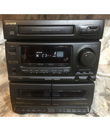 Aiwa CX-N2700 Compact Stereo System Only Am/FM Radio Jams-CD/Cassette FixerUpper - $126.19