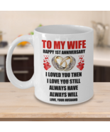 1st 2nd 3rd 4th 5th 6th 10th 25th Wedding Anniversary Customised Gift Fo... - $15.83