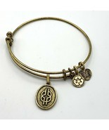 Angelica Wisdom Knot Gold Tone Charm Bracelet Eco Friendly Bangle Made i... - $14.01