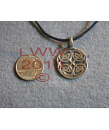 Pewter Celtic Elemental Knot Amulet Pendant Necklace New - $5.85