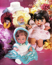CROCHET DOLLS FANCY FRIENDS DOLL CLOTHES - $4.95