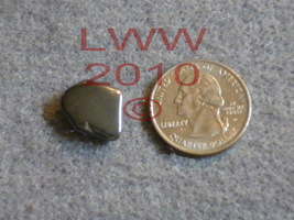 Small Grounding Hematite Tumbled Stone NEW - $1.50
