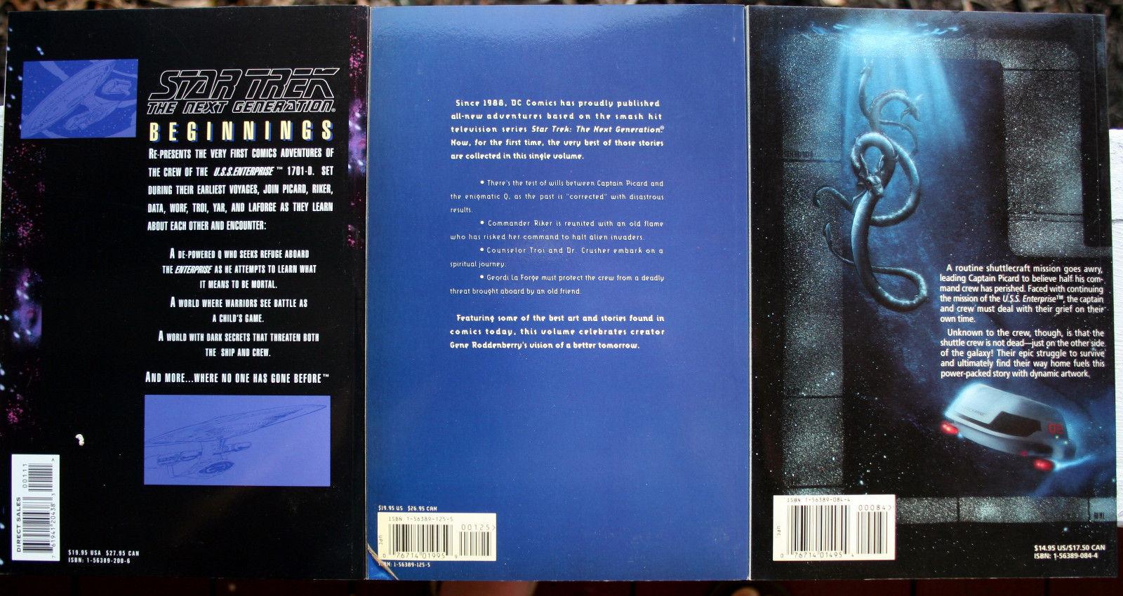 Lot 12 Star Trek OS/TNG Graphic Novel FEFP Who Killed Kirk Blood Will Tell Alien