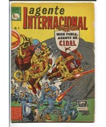 AGENTE INTERNACIONAL #8 1966-MARVEL-STRANGE TALE-MEXICAN-SHIELD-g/vg - $49.18