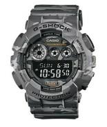 Casio G-Shock Digital Men's Camouflage Gray Shock Resistant GD-120CM-8DR... - $123.20