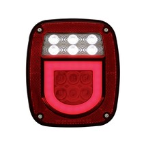 "United Pacific LED ""GLO"" Universal Combination Tail Light Without License Light - $65.69"