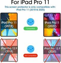 amFilm Glass Screen Protectors (2) for iPad Pro 11 inch (2020 & 2018 Models)