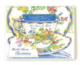 Bridal Invitations With Tea - $14.95