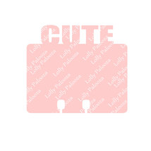 Love and Cute Word Topped Dex Cards DIGITAL File.  Instant Download.  SVG Files. image 2