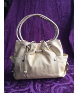 Fossil Yellow Leather Castille Tote / Shoulder Bag, EUC - $63.70