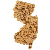 Totally Bamboo New Jersey State Destination Bamboo Serving and Cutting B... - $38.62