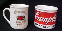 Campbell's Kids Beefsteak Tomato Soup Cup Mug Collector Series 1998 Cup ... - $19.57