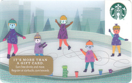 Starbucks 2017 Ice Rink Collectible Gift Card New No Value - $4.99