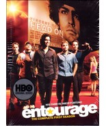 DVD HBO Entourage Complete Season One Mark Wahlberg - AS NEW 2008 - $9.95