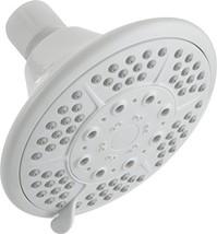 Peerless 76571WH White 5 Spray Settings Massage Shower Head - $10.00