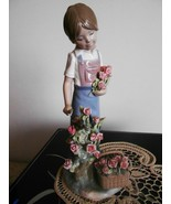 Lladro ~ Roses For My Mom # 5088 ~ Mint condition. - $899.00