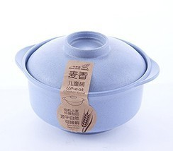 Wheat Straw Eco Biodegradable Unbreakable Bowl Anti Hot Dinnerware Bowl ... - $10.88