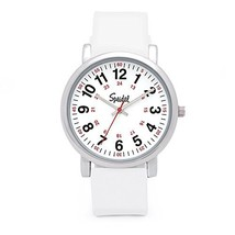 Speidel Scrub Watch for Medical Professionals with Silicone (White Silic... - $67.82