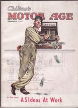 An Original January 1951 Issue of Chilton's Motor Age Magazine  - $17.81