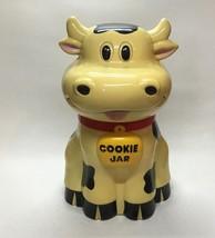 Cow Mooing Cookie Jar 1992 Fun-Demental Too Cow Moos When Lid is Opened ... - $24.99
