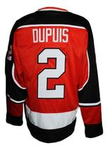 Any Name Number Fort Wayne Komets Retro Hockey Jersey New Red Dupuis Any Size image 2