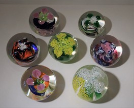 Oglebay ~Wheeling, West Virginia Flower Paperweights ~ Your Choice! - $24.00+