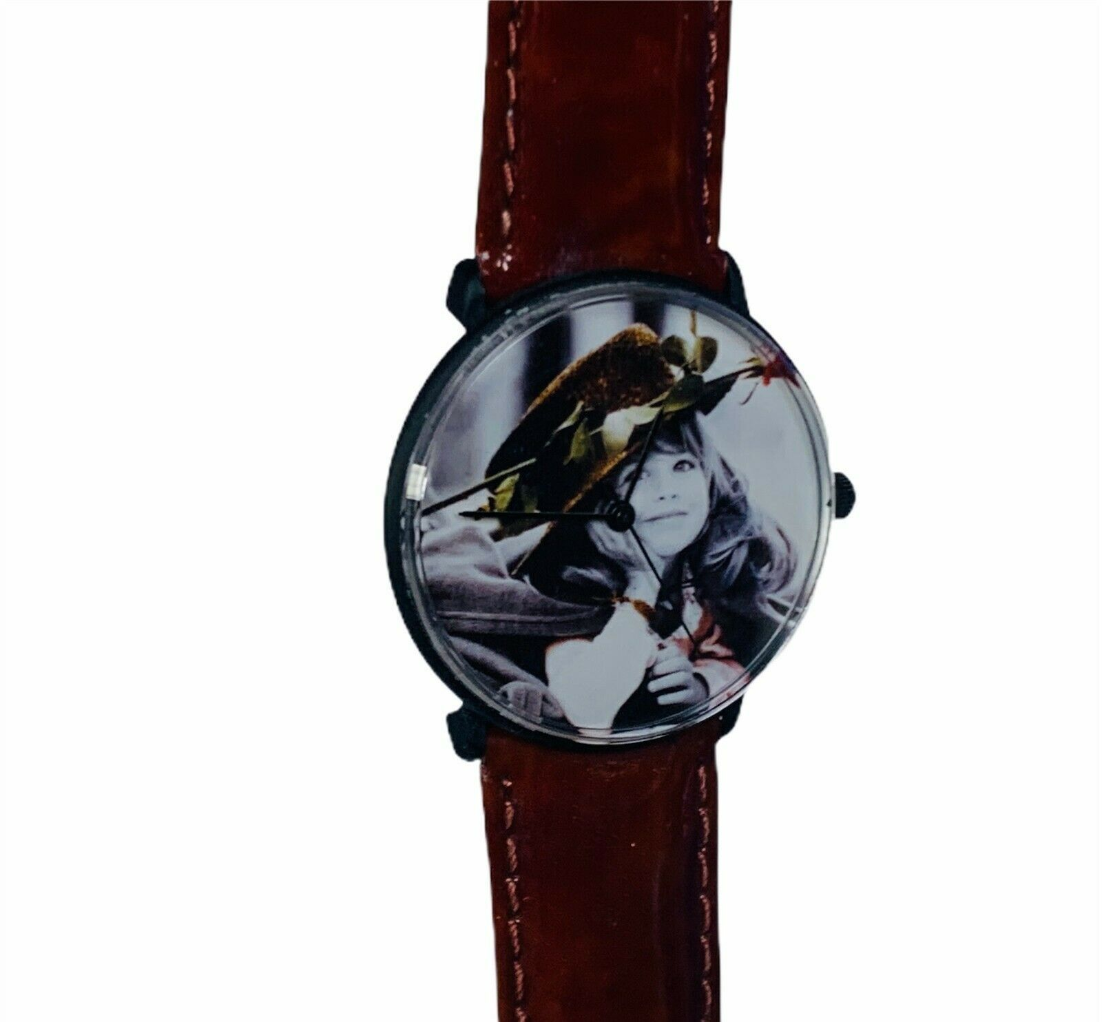Primary image for Pretty as Picture Kim Anderson figurine vtg Classico wristwatch watch girl hat