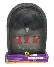 Halloween Sonic Tombstone R.I.P. Screams And Lights Sensor Activated New... - $35.99