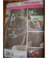 SIMPLICITY # 3731 / CAR ORGANIZERS NEW - $0.00