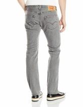 Levi's 501 Men's Original Straight Leg Jeans Button Fly Grey 501-2370 image 2