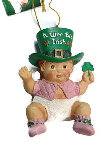 Primary image for Wee Bit Irish Baby Ornament (Girl)